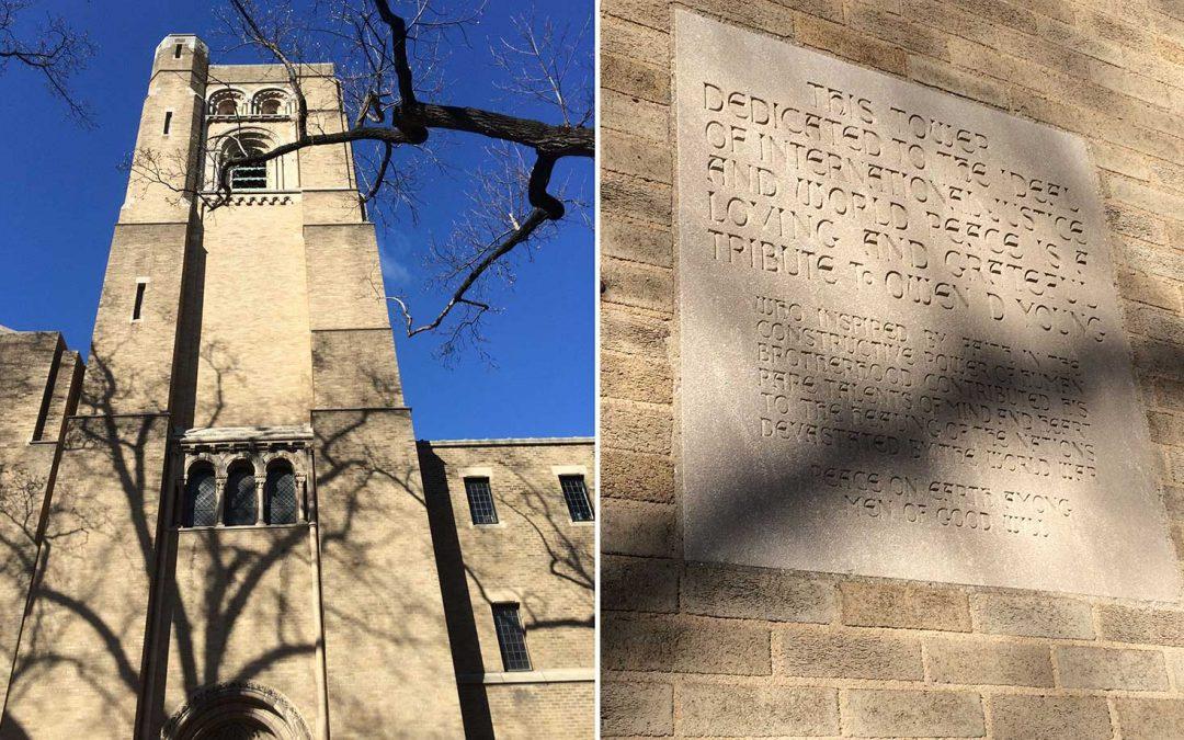 Monday's Monument: Owen D. Young Peace Tower, Washington, D.C.