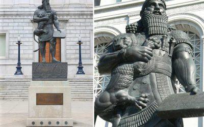 Monday's Monument: Ashurbanipal Statue, San Francisco, California