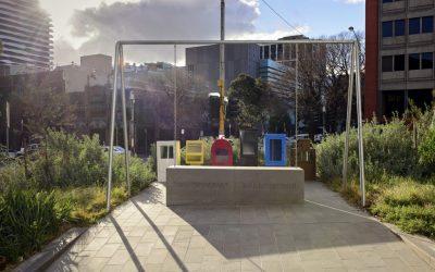 Monday's Monument: Standing by Tunnerminnerwait and Maulboyheenner Monument, Melbourne, Australia