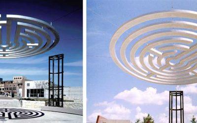 Monday's Monument: Labyrinth Gateway, UTSA, San Antonio, Texas