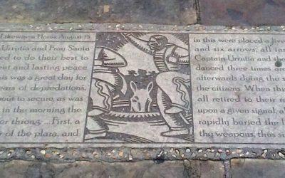 Monday's Monument: Bury the Hatchet, San Antonio, TX