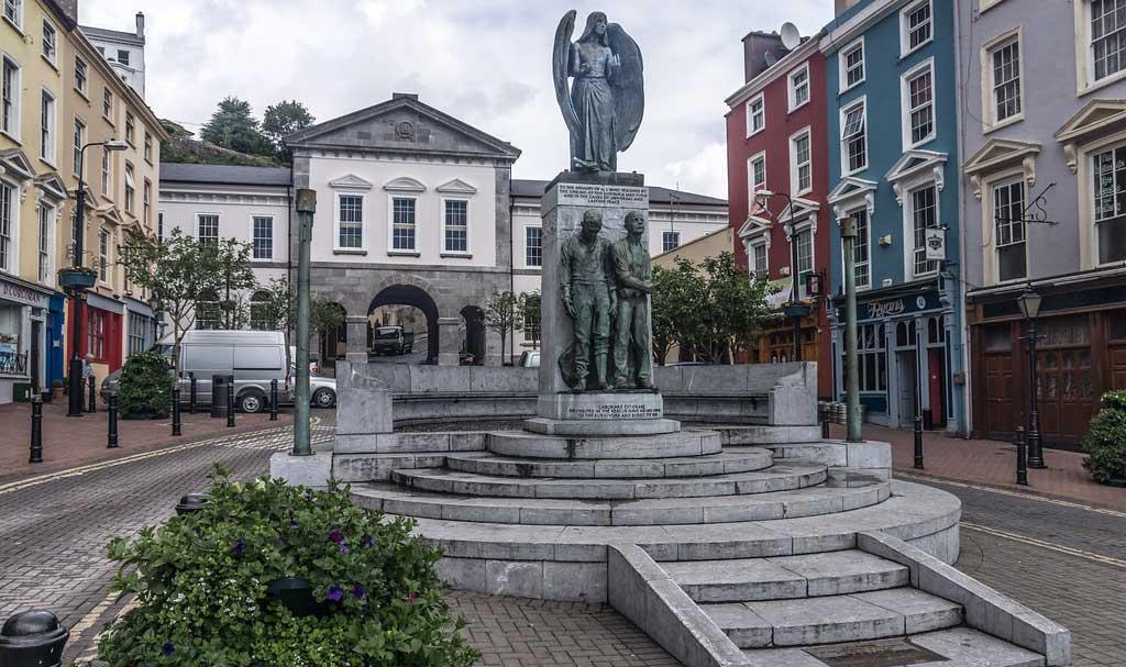 Monday's Monument: Lusitania Peace Memorial, Cobh, County Cork, Ireland