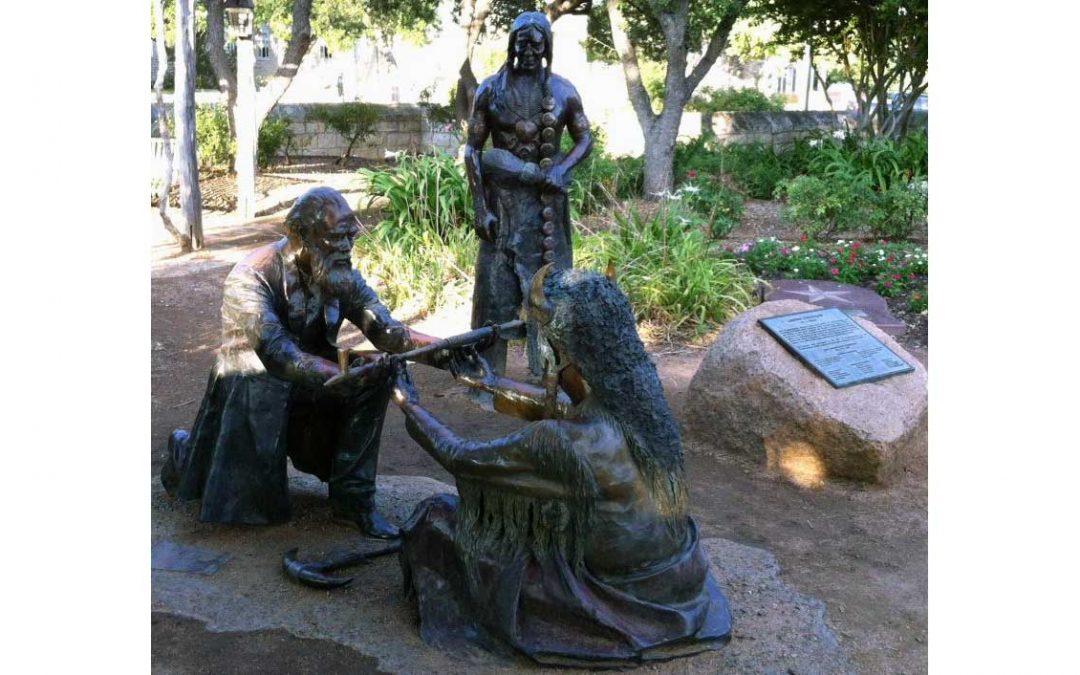 Monday's Monument: Lasting Friendship, Fredericksburg, Texas