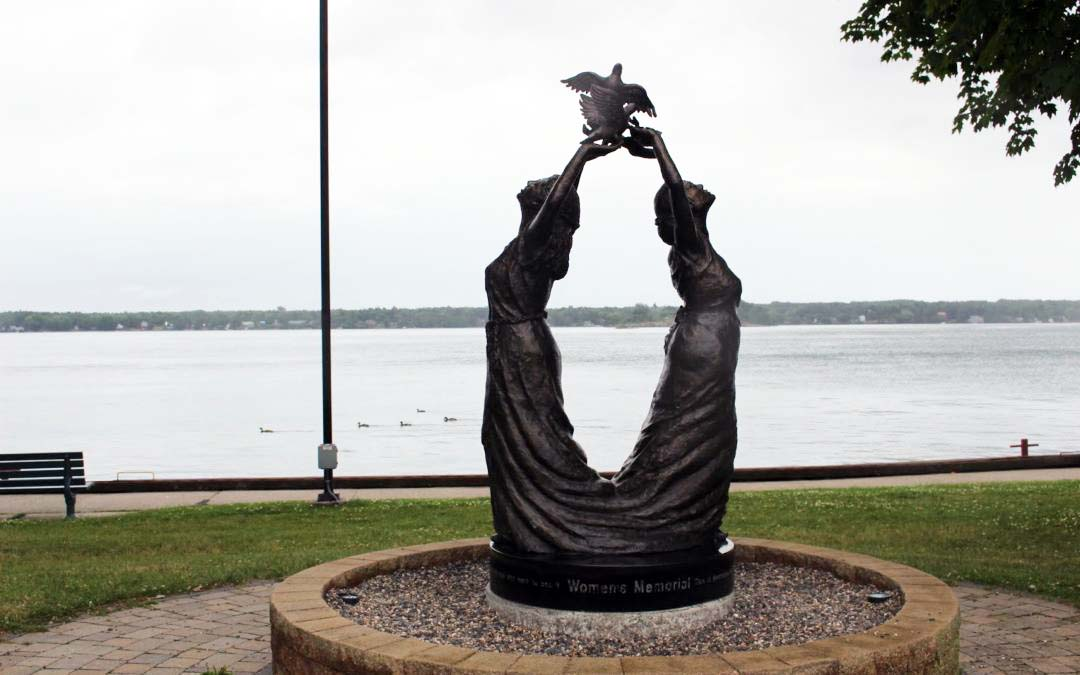 Monday's Monument: Women's Memorial, Brockville Ontario, Canada