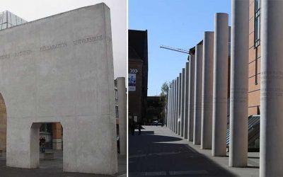 Monday's Monument: Straße der Menschenrechte, Nuremberg, Germany