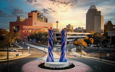 Monday's Monument: Door of Equality (La Puerta de Igualdad), San Antonio, Texas