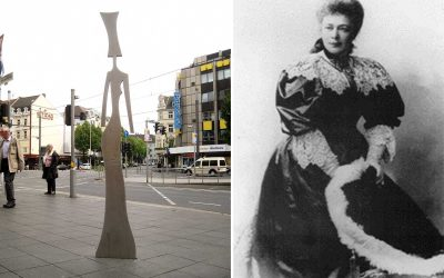 Monday's Monument: Bertha von Suttner Statue, Bonn, Germany