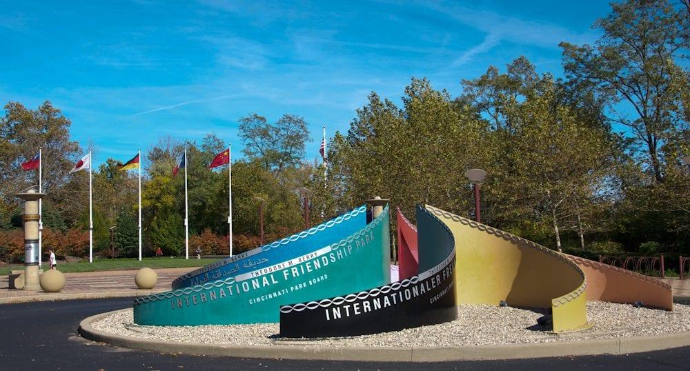 Monday's Monument: Theodore M. Berry International Friendship Park, Cincinnati, Ohio