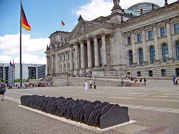 Monday's Monument: Memorial to the Murdered Members of the Reichstag, Berlin, Germany